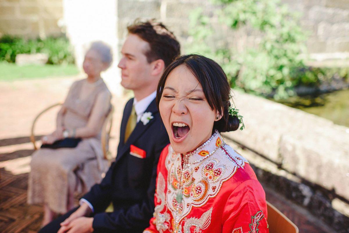 cerimónia de casamento chinesa no porto
