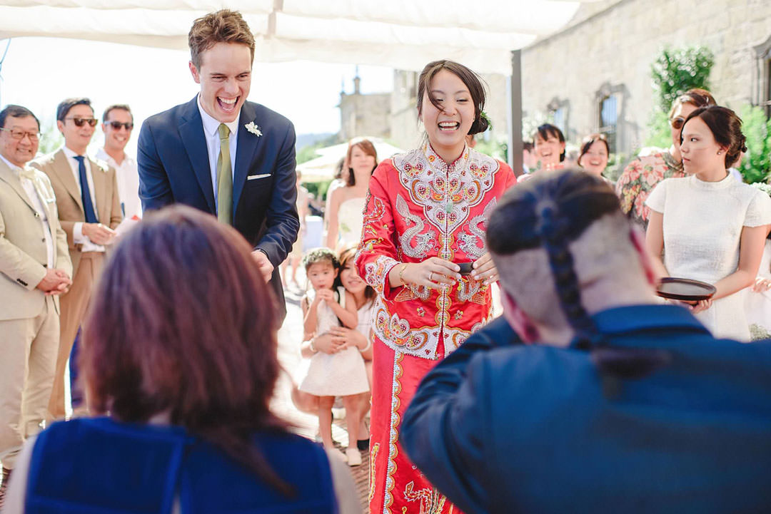 chinese wedding ceremony in portugal
