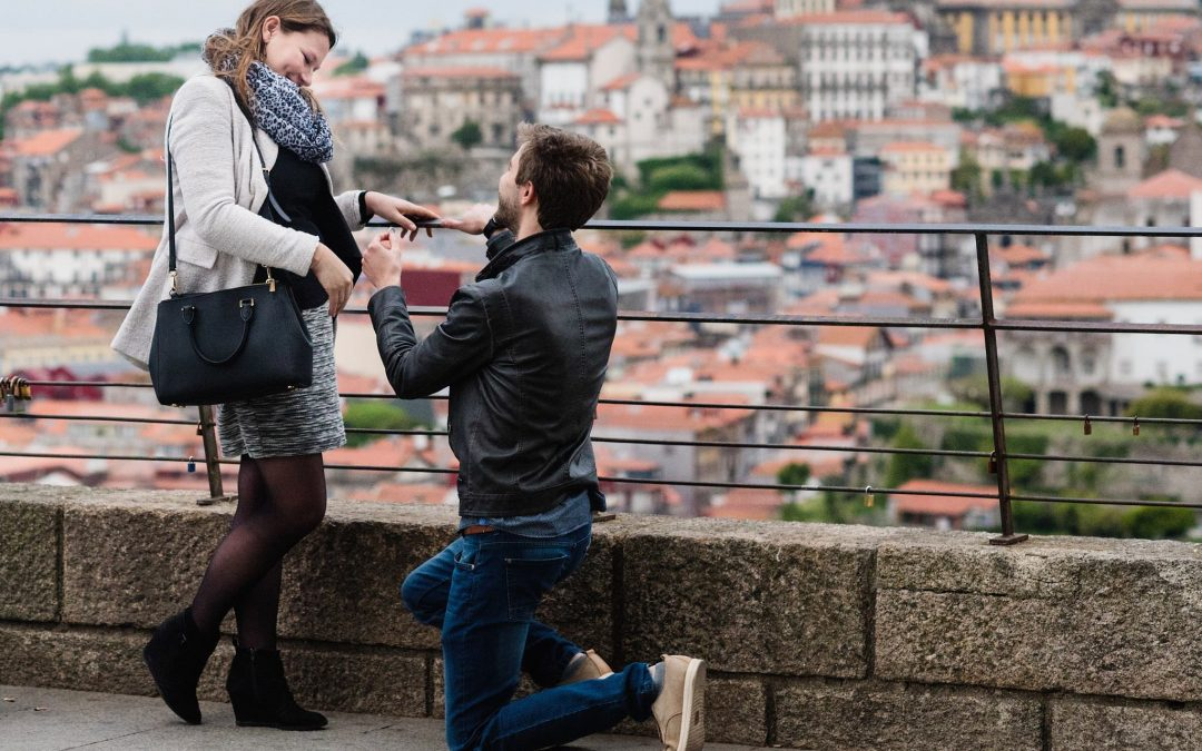 Wedding Proposal in Porto or Oporto, Portugal, 2017 // Sebastien & Anaïs