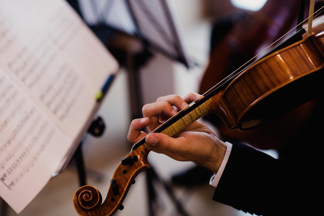 violino no casamento