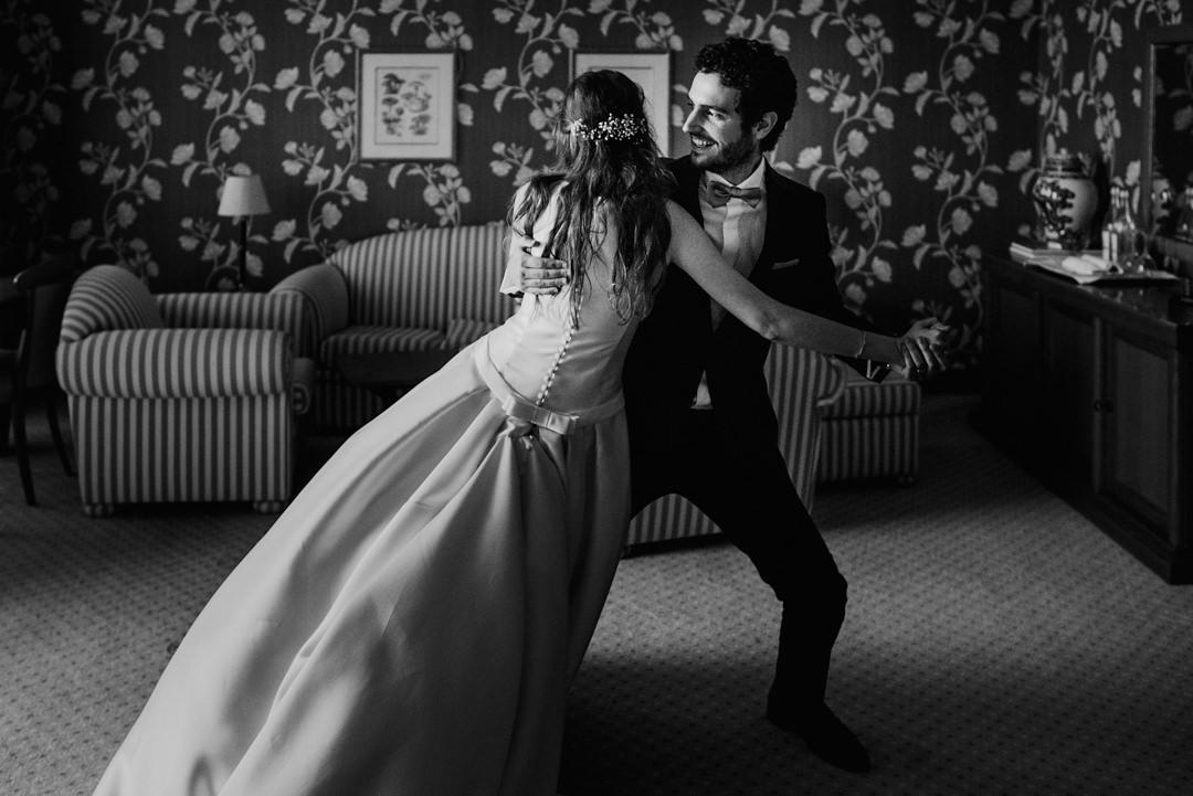ensaio de primeira dança