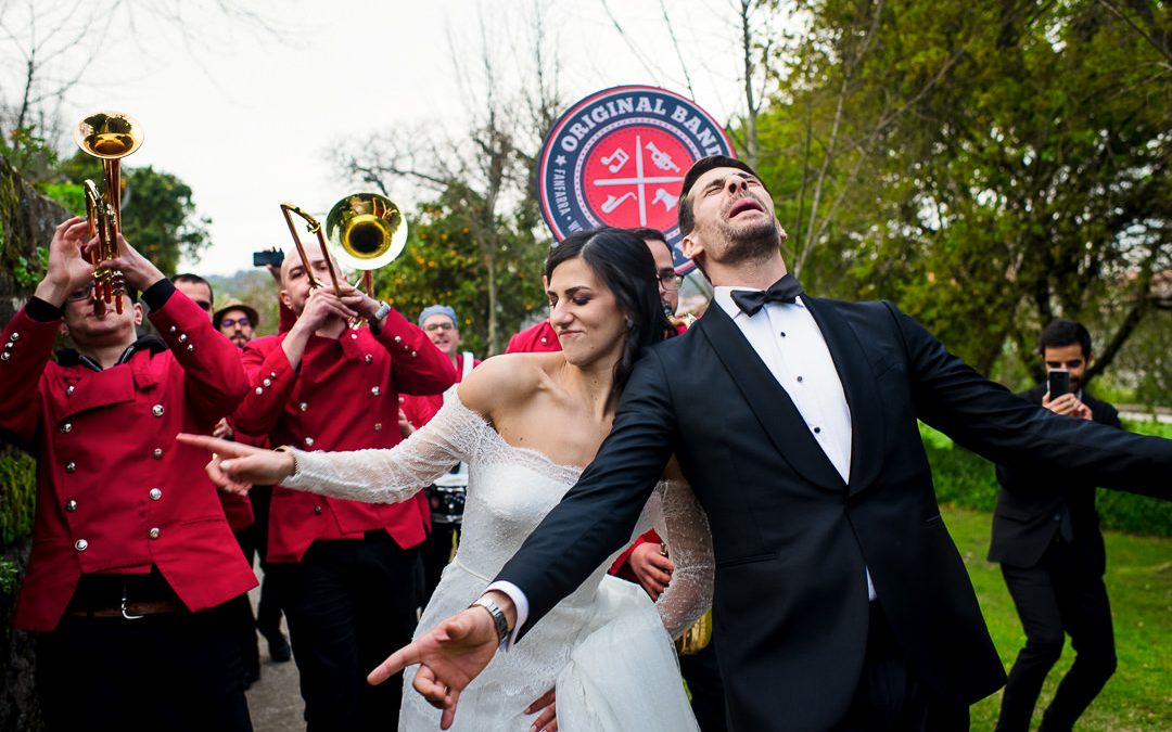 Wedding in Torre Bella, Porto, Portugal // Quirina & Egas