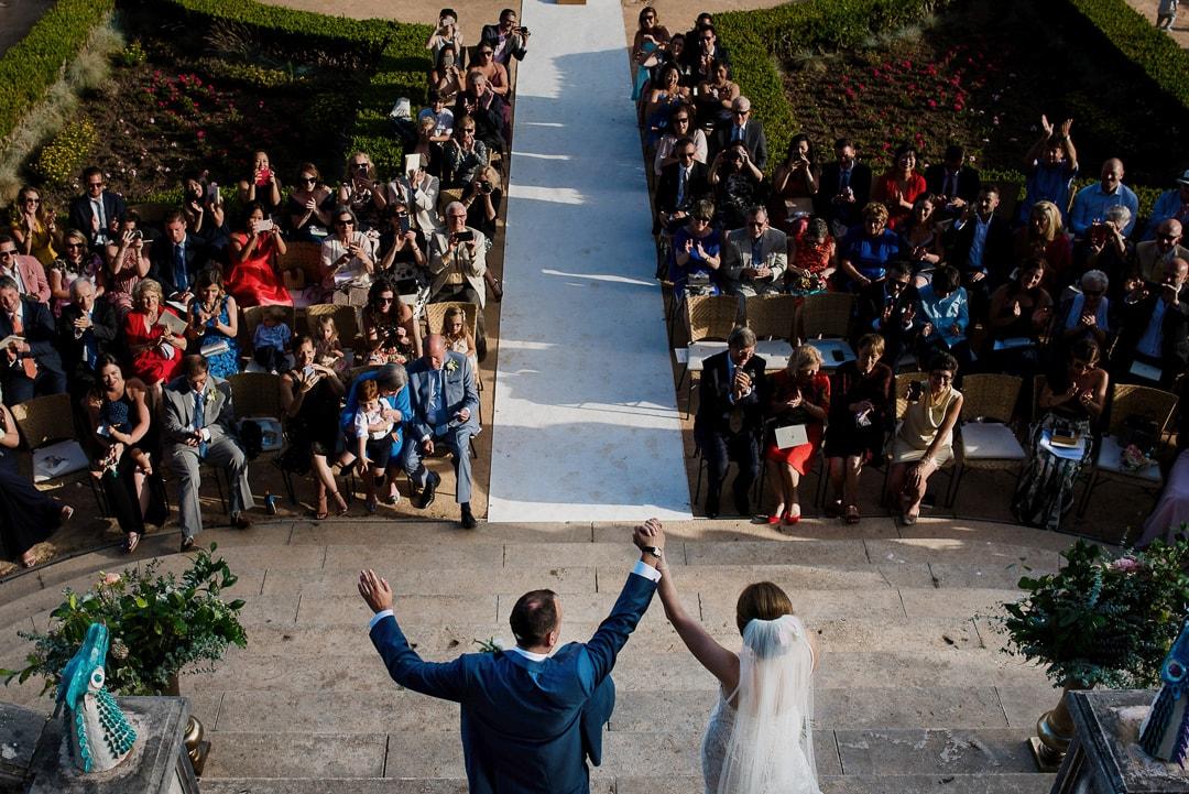 outdoor lisbon wedding
