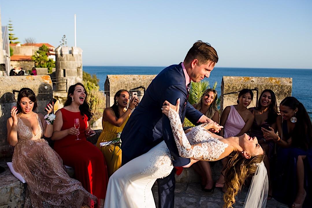 american wedding in lisbon portugal